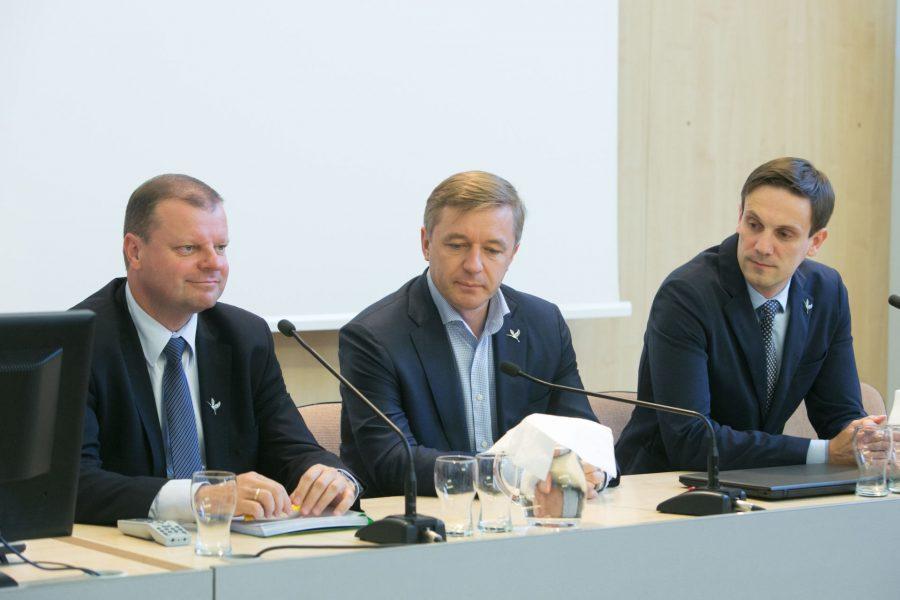 LVŽS pristatė rinkimų programą ir kandidatus į ministrus